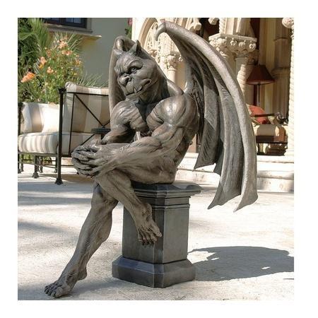 Design Toscano Socrates the Gargoyle Thinker Sculpture DB383050