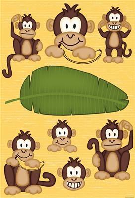 Monkey Bulletin Board Set