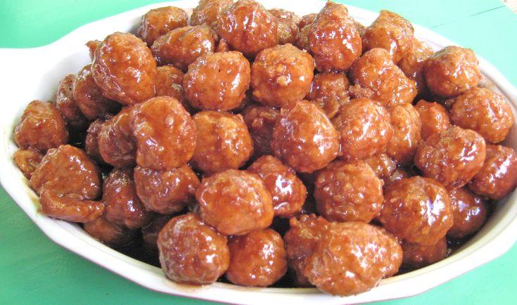 Sticky Sweet Pork Balls