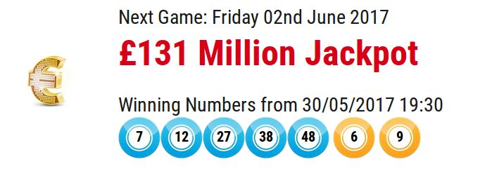 Take a look at the latest Euromillions results at the Offersville website.There are matters to check, your jackpot numbers and your united kingdom millionaire.UK tickets are allocated a millionaire maker code for each foremost set of euro millions of numbers purchased.