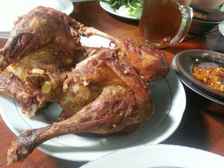 Fried duck - Bebek goreng, H. Slamet