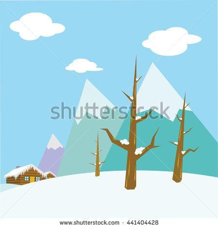 season winter mountain