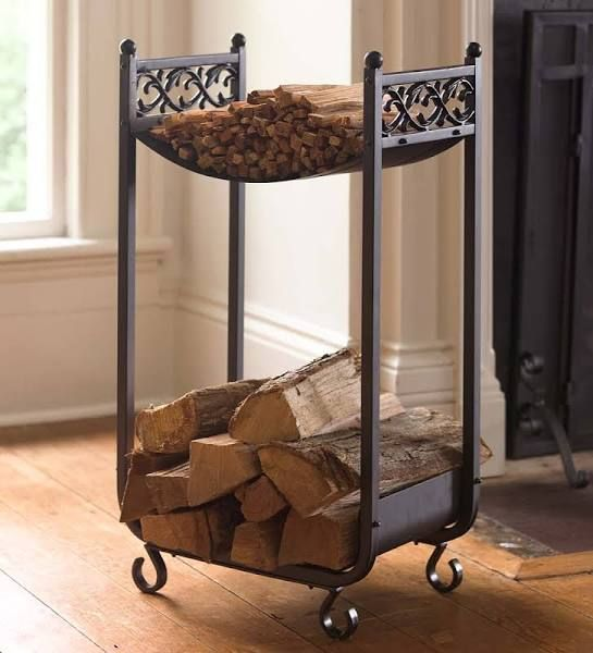 Best 25 indoor firewood storage ideas on pinterest for Log storage ideas