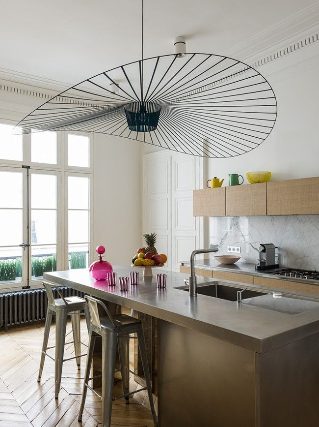 Petite Friture suspension in the kitchen.