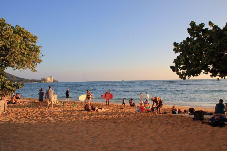 Waikiki Beach, Hawaii www.thegirlswhowander.com