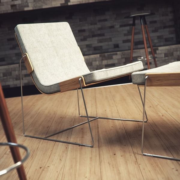 Amazing beautiful furniture design via From Up North (Pin: Tribute To Pancras by Edelkollektiv):