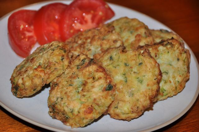 These are the best!!!!Zucchini Fritters Recipe - Recipe for Zucchini Fritters with Feta Cheese (Kolokithokeftethes)