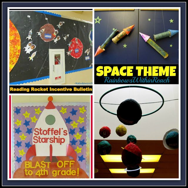 58 best classroom theme outer space astronauts nasa images on pinterest space classroom - Outer space classroom decorations ...