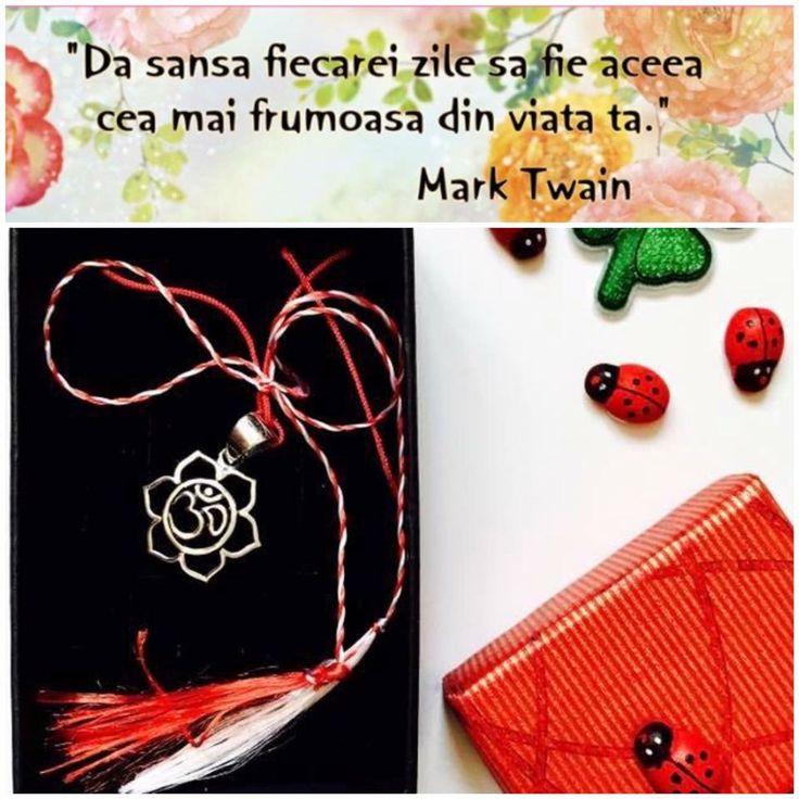 Martisorul este simbolul primaverii, al iubirii si puritatii, al delicatetei si renasterii, al norocului si al bucuriei💗💫🌸❤️💚 http://folconcept.ro/magazin/martisoare-cu-simboluri-sacre/