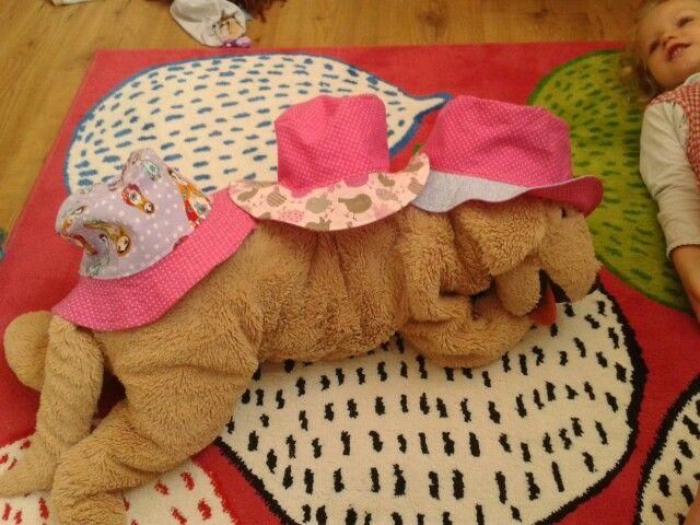 Nähen: sommerhüte (schnitt: schnabelina)