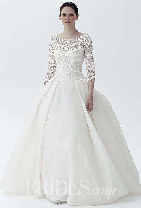 Peter Langner - Spring 2016. Wedding dress by Peter Langner