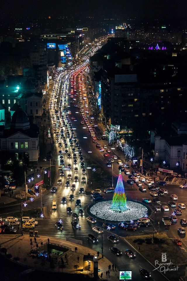 Christmas in Bucharest, Romania