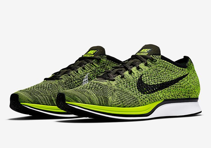 A Volt/Black Nike Flyknit Racer Will Be Releasing This Summer
