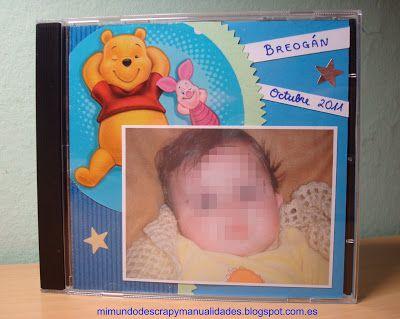 Personalizar una carátula o portada de CD utilizando técnicas sencillas de scrapbooking.  ¡Guarda de forma bonita tus recuerdos digitales!