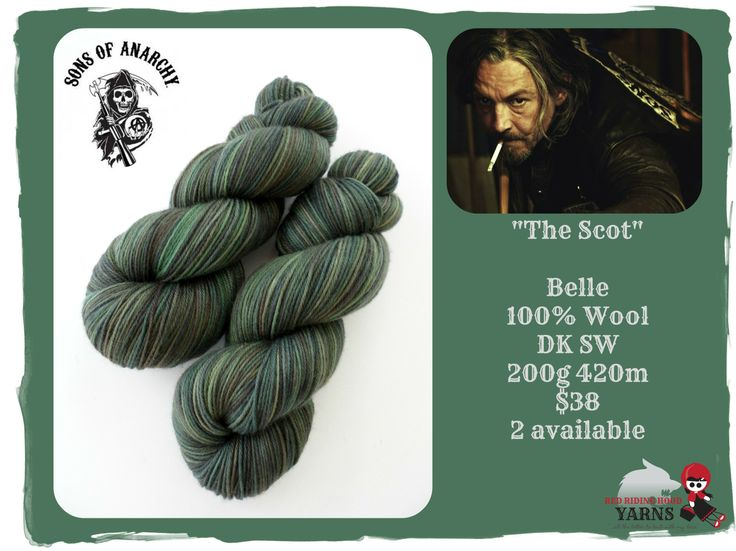 The Scot  - Sons of Anarchy / Red Riding Hood Yarns