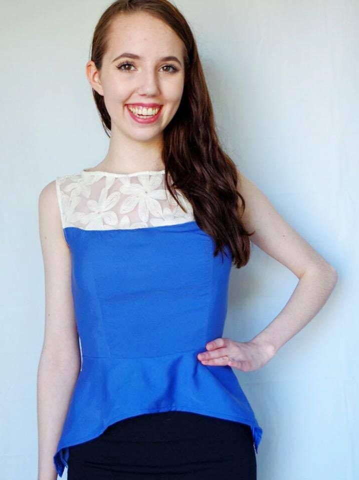 how to make a peplum skirt