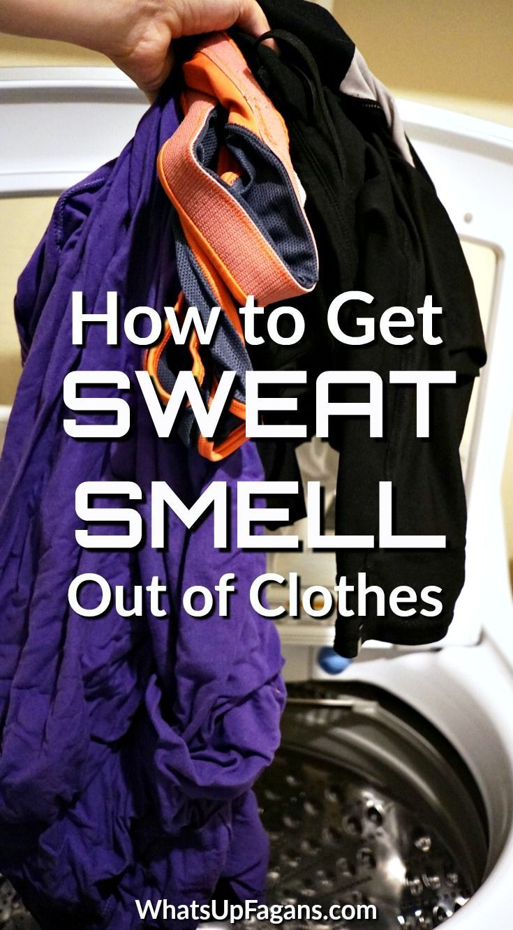 How To Get Sweat Smell Out Of Workout Clothes Even After Washing Smelly Clothes Stinky Clothes Smelly Shirts