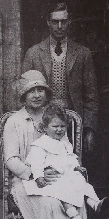 The Duke and Duchess of York with their daughter Princess Elizabeth of York