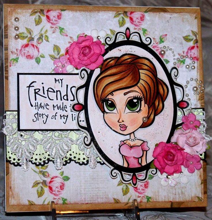DB Craft Girls: Cameo Card