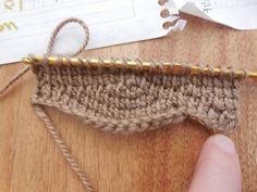 wavy Tunisian crochet