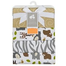 Just Born - Zootopia - 4-pack Flannel Receiving Blankets