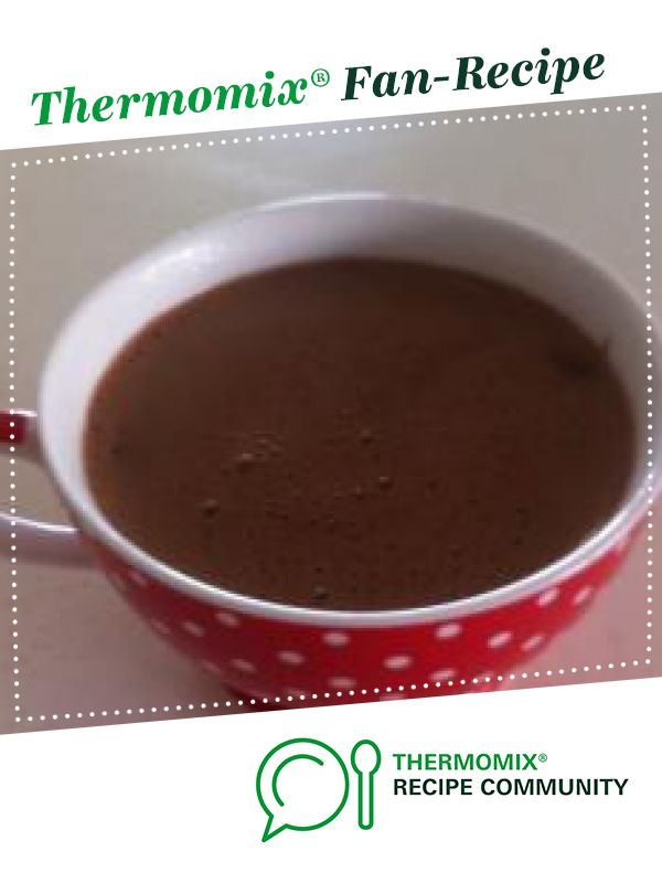 Spanish Hot Chocolate Recipe Thermomix Recipes Recipes Hot Chocolate