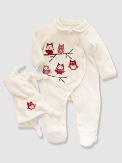 Pyjama bébé velours et son doudou  - vertbaudet enfant