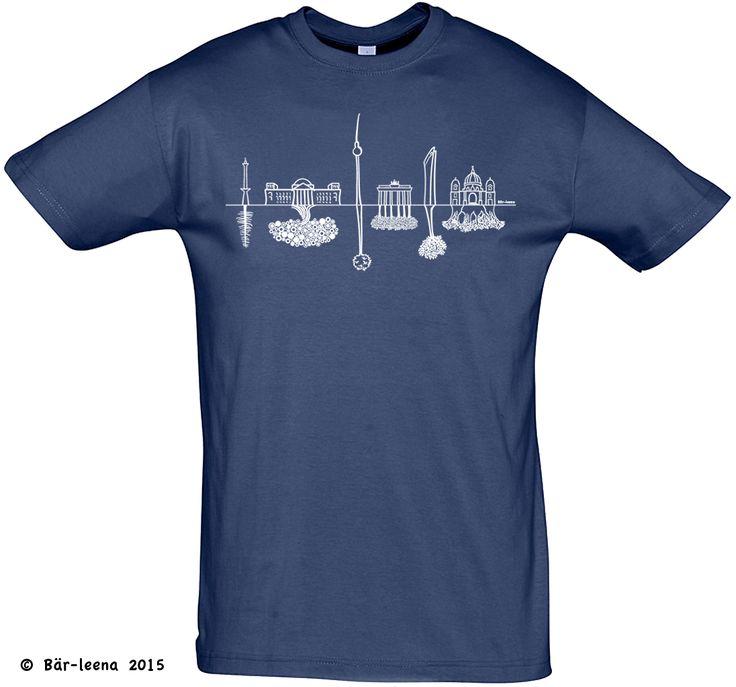 Männer Geschenke - Berlin T-Shirt - Bär-leena