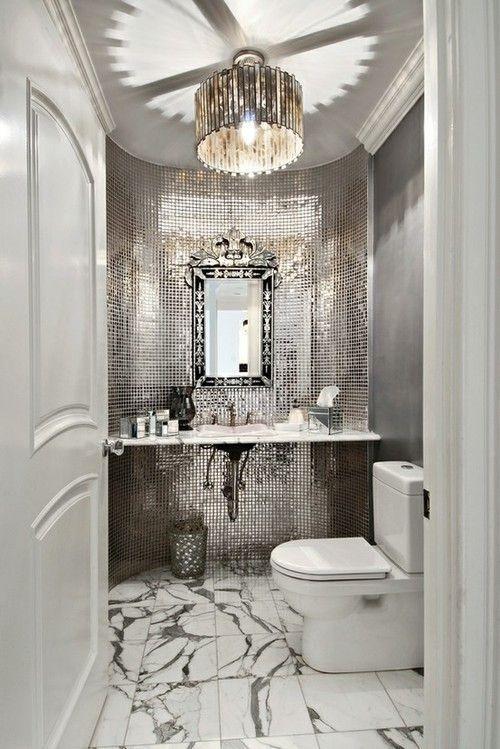 Home Decor- silver grey wall idea