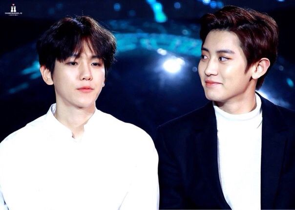 Baekhyun and Chanyeol