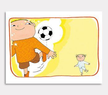 Alfons sparkar fotboll