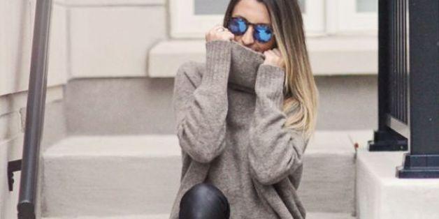 Les leggings en faux cuir font fureur (PHOTOS)