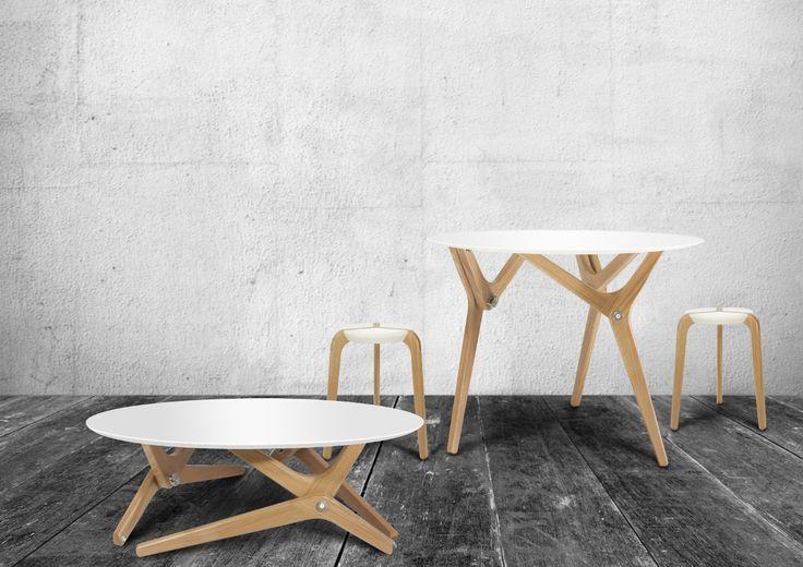 Découverte du dernier salon Maison et Objet, un nouvelle marque et maison d'édition française, baptisée Boulon Blanc et sa table modulable archimède