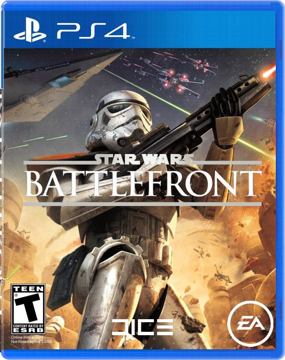 star wars battlefront game cover ps4 - Ps4 Video Games