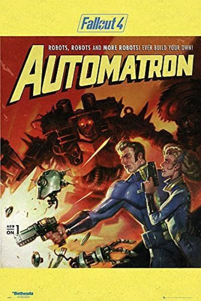 Fallout 4 Automatron  Maxi Poster 61cm x 91.5cm new and sealed