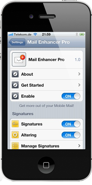 MAIL ENHANCER PRO FOR IPHONE UPDATED, SUPPORT FOR IOS 6 AND NEW FEATURES Posted on Mar 18, 2013  The Mail app for iOS offers a simple way for users to manage multiple email accounts with relative ease, but for some, the basic features don't stretch far enough. The jailbreak community operates with the mentality that there's always some room for improvement, and Mail Enhancer Pro, a tweak developed by Stefan Mollenkamp, has long since been seen as the antidote for those pining ...
