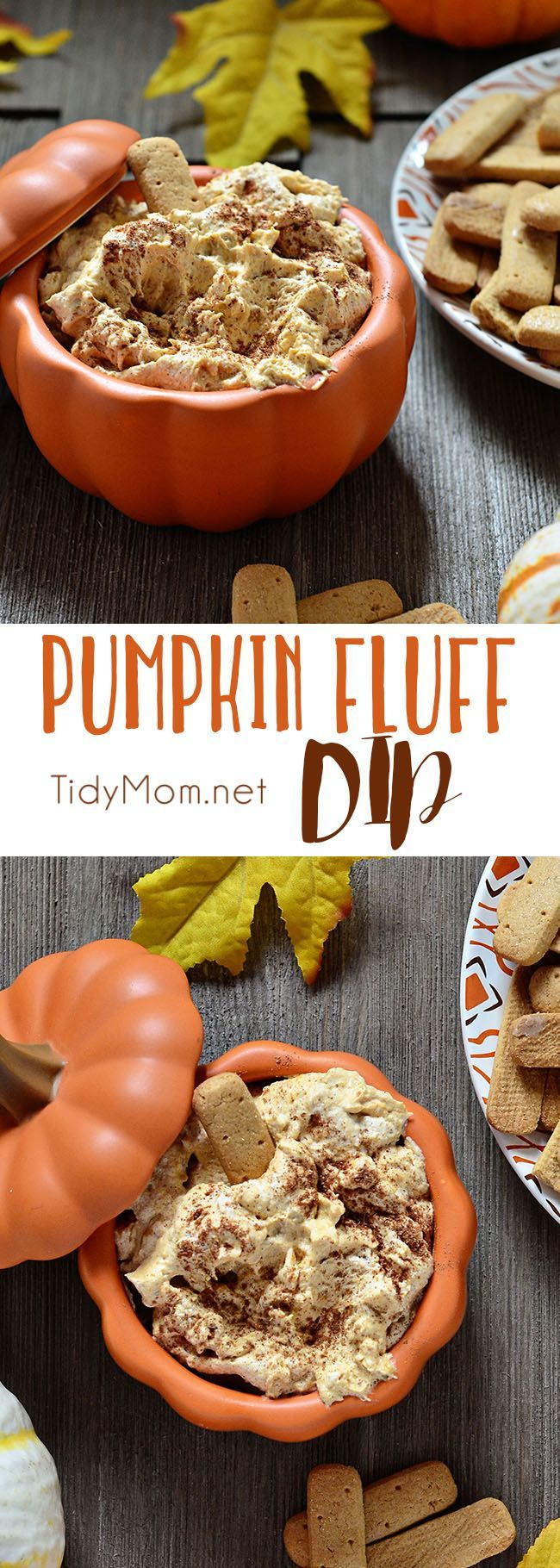 Pumpkin Fluff is a creamy, fluffy favorite fall treat. Serve with graham crackers or stuff into a cannoli shell or just dig in with a spoon. It's full of fiber, and if you use sugar free/fat free pudding mix, Cool Whip Lite and 1% milk it's a low cal trea