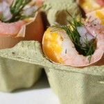 Met Pasen - Scrambled eggs (Roerei) in eierschaal