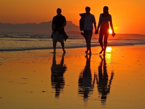 Strand Beach. South Africa