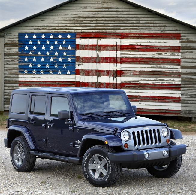 Jeep Wrangler Limited Edition Patriot Comes In Red, White