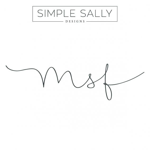 Initials Tattoo MSF by simple sally designs