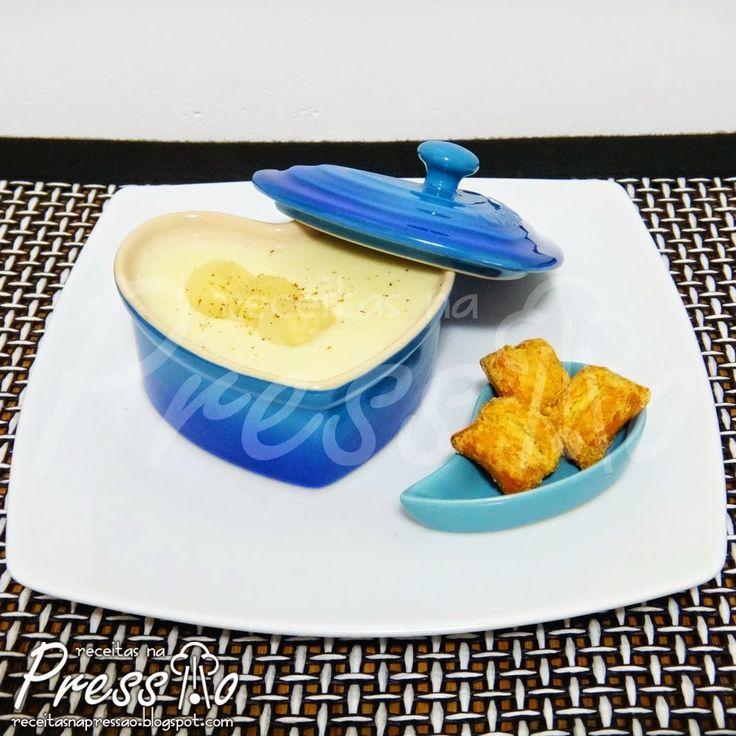 Sopa: Consomé de Palmito na Pressão