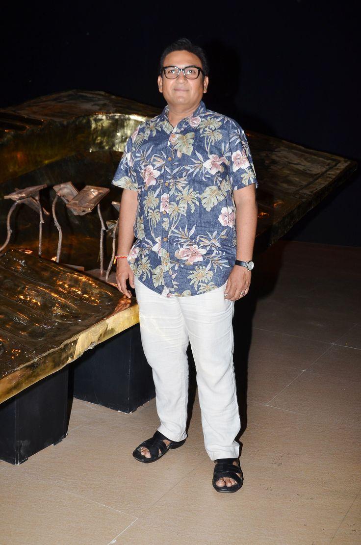 Dilip Joshi  at Akhilesh Kumar's 'Sochalay' art show inauguration at Jehangir Art Gallery