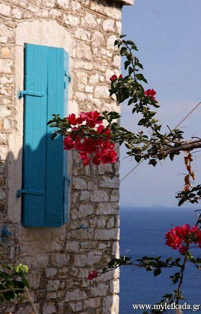 The small Island of Kastos (Ionian), Greece