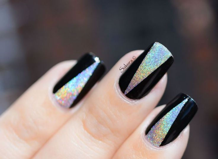 Nail Art Manucure Triangle - Best 25+ Triangle Nail Art Ideas On Pinterest Triangle Nails, Go