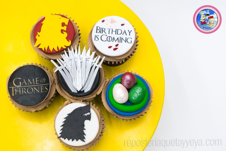 Cupcakes Game of thrones