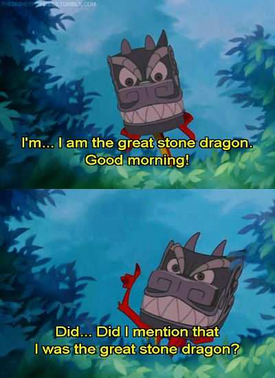 Great Stone Dragon aka Mushu