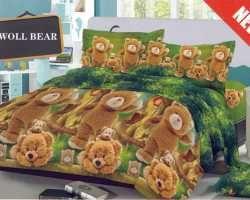 Grosir Sprei KINTAKUN DELUXE - Kintakun Deluxe Woll Bear