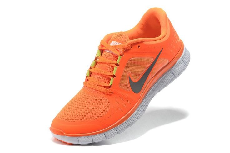 quality design 9f2f9 6e0b5 ... Chaussure De Running Nike Free Run 5.0 +3 Orange Argent Homme Femme  France Discount En Ligne ...