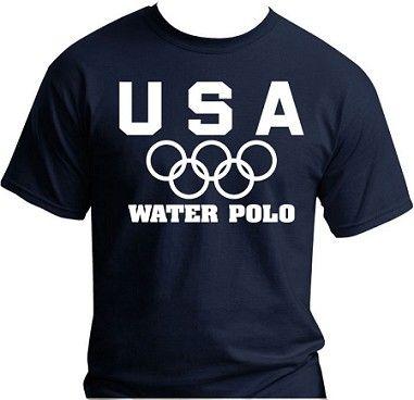 USA Olympic Water Polo team shirt